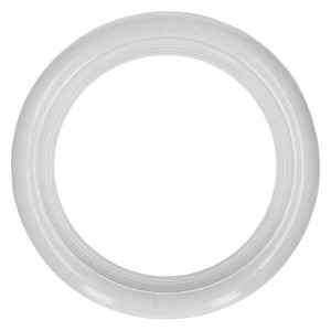 White wall ring 15 inch, 4 pieces
