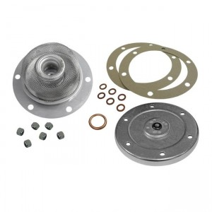 Complete oil change kit, Strainer, sump plate, seals and nuts