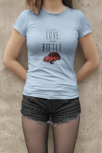 Koszulka damska LOVE AND THE BEETLE